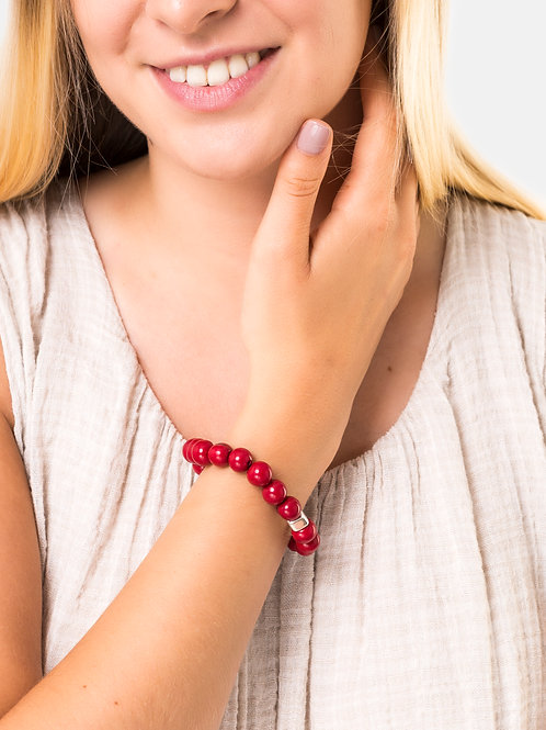 Acai Bracelet- Red