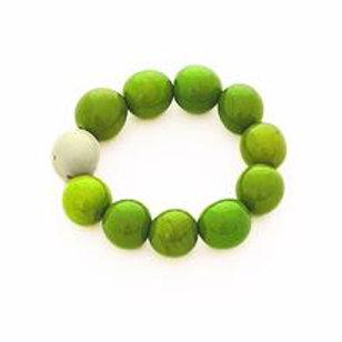 Cluster Bracelet- Green