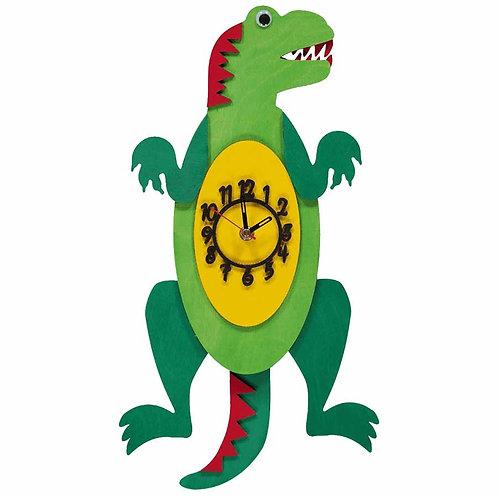 Trex Dinosaur Pendulum Clock