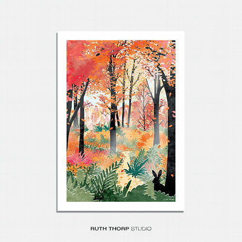 Forest Bathing by Ruth Thorp