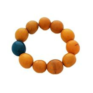 Cluster Bracelet- Yellow