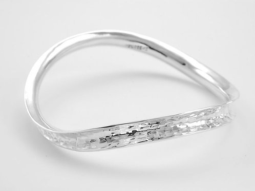 Curved Solid Bangle