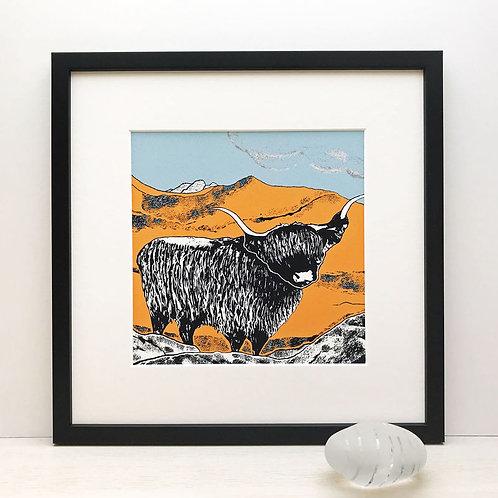 Highland Tangerine by Denise Huddleston.