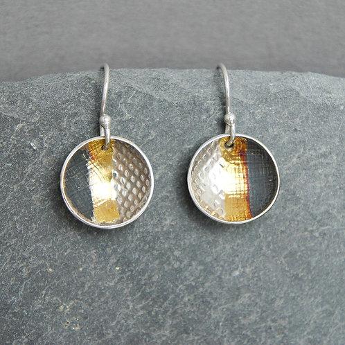 Circle Short Earrings