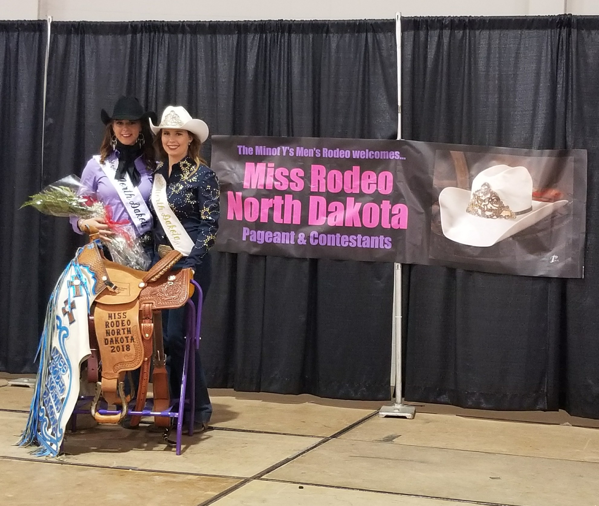 2018 & 2017 Miss Rodeo North Dakotas