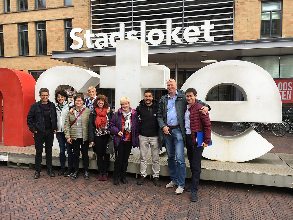 Basque country visiting Age-friendly housing programme Amsterdam in April 2018