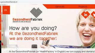 GezondheidFabriek lanceert Engelse site