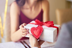 Valentine's Day concept. Happy couple in