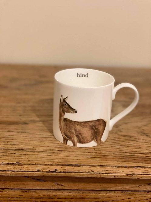 Red Hind Mug