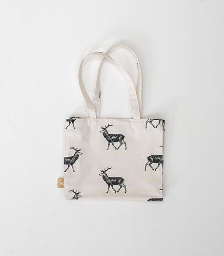 Highland Stag Cotton Bag