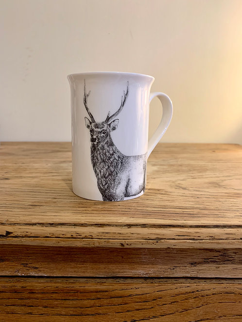 Cervus nippon Bone China Mug