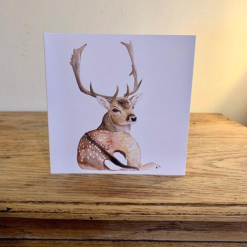 Fallow Art Greetings Card