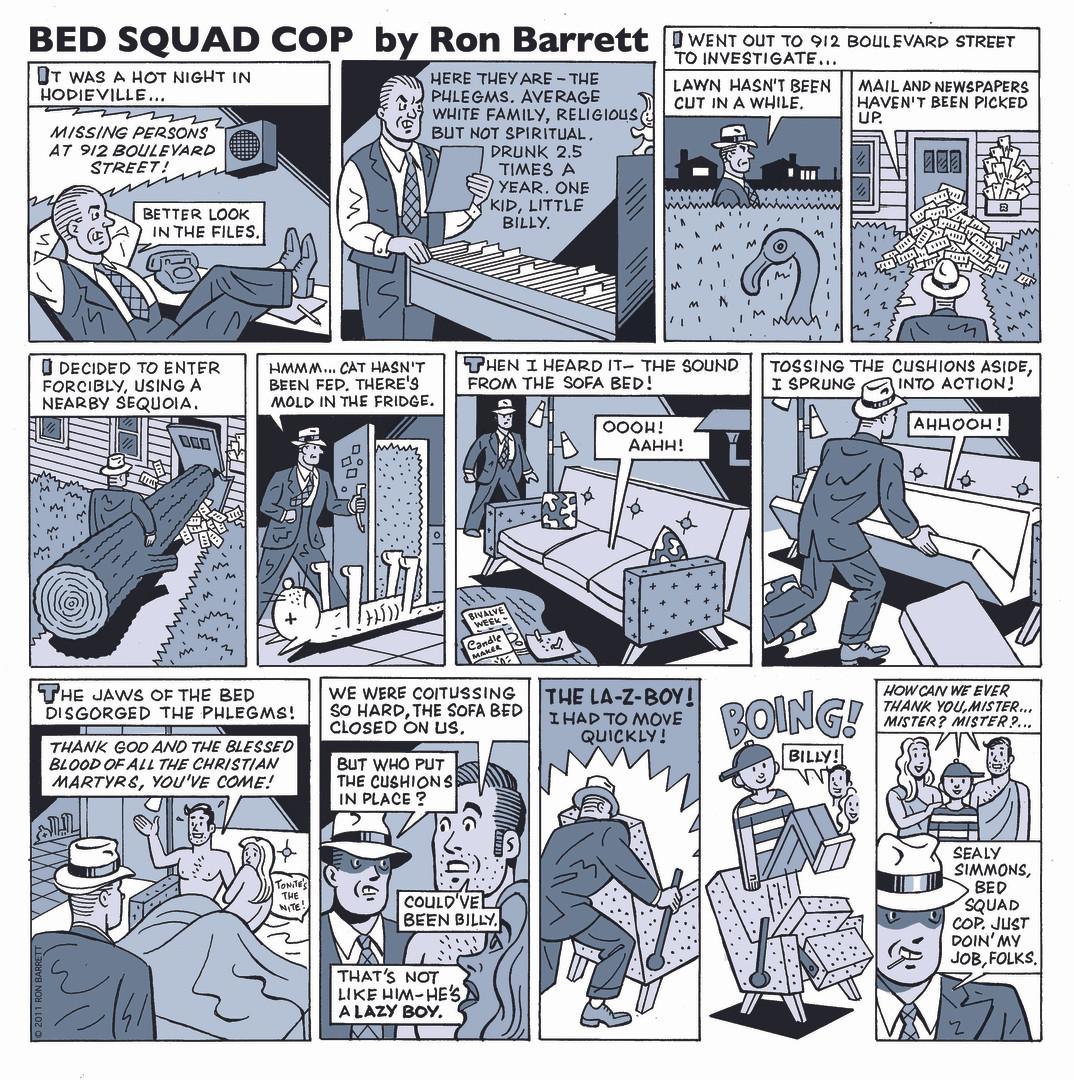 1. Bed Squad Cop