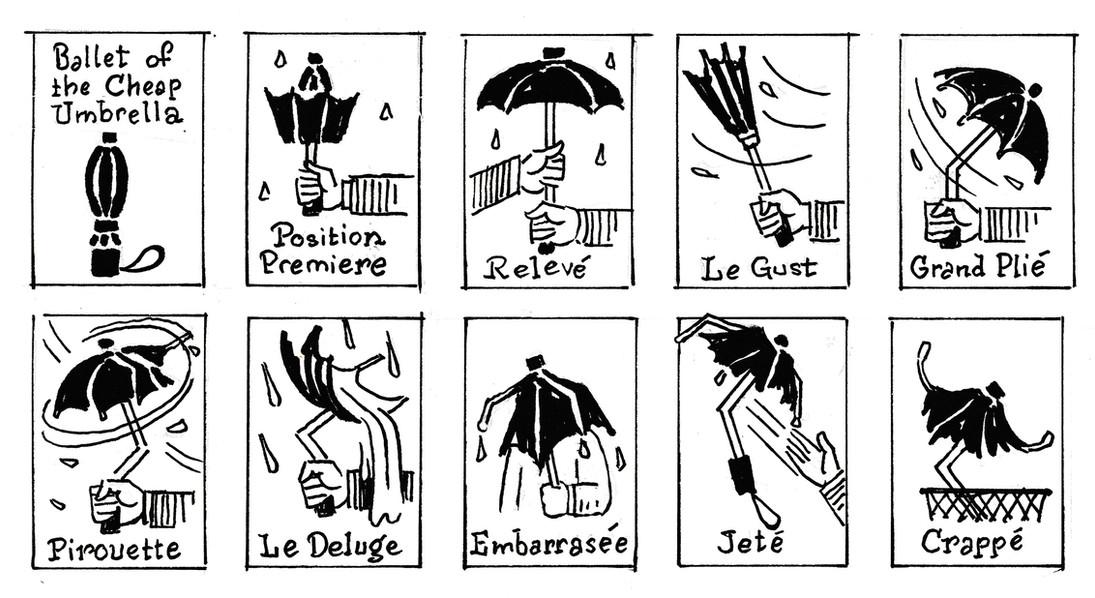 Umbrella Ballet