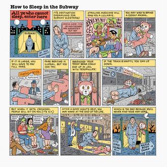 6. Subway Sleeper