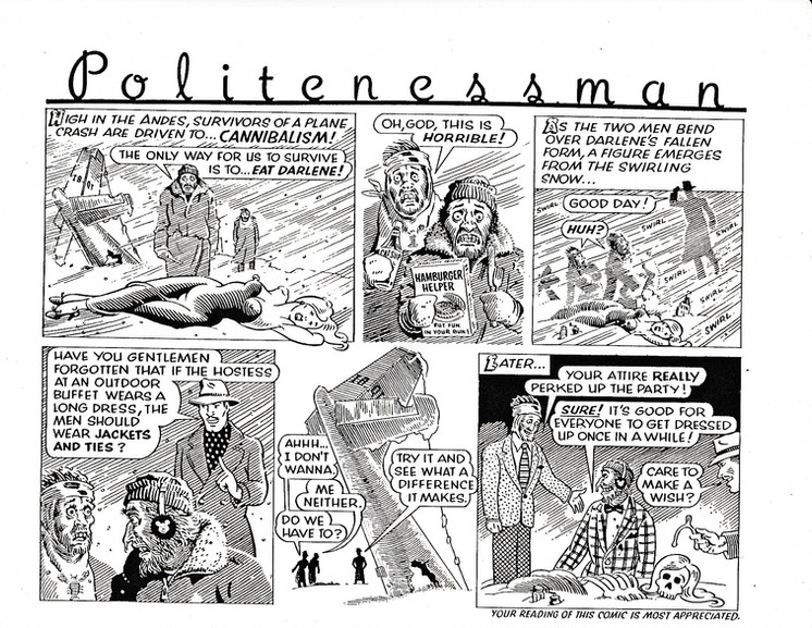 4. Politenessman Darlene