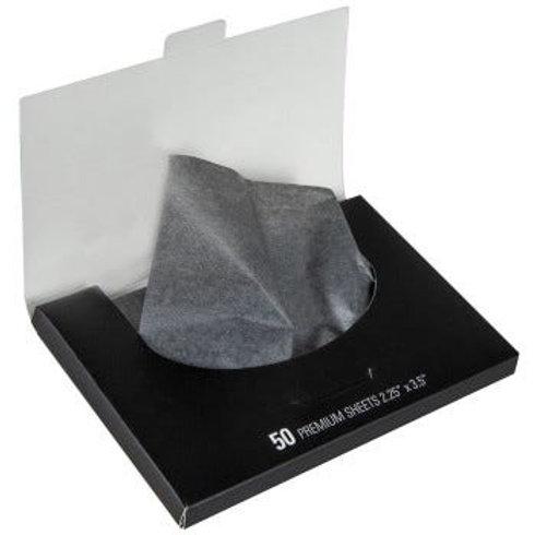 Charcoal Blotting Linens 50 sheets