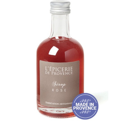 Rose Flower Syrup from Provence (250 ml)