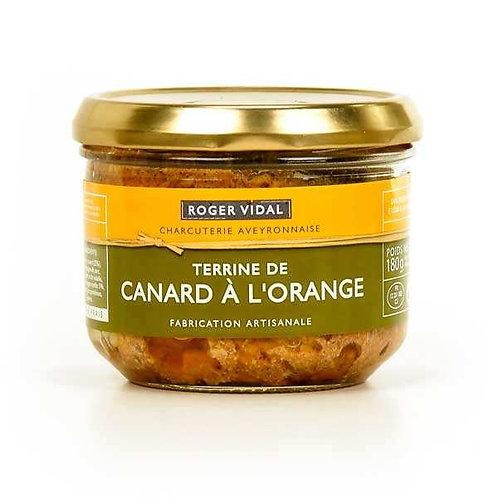 Duck and Orange Terrine 180 gr