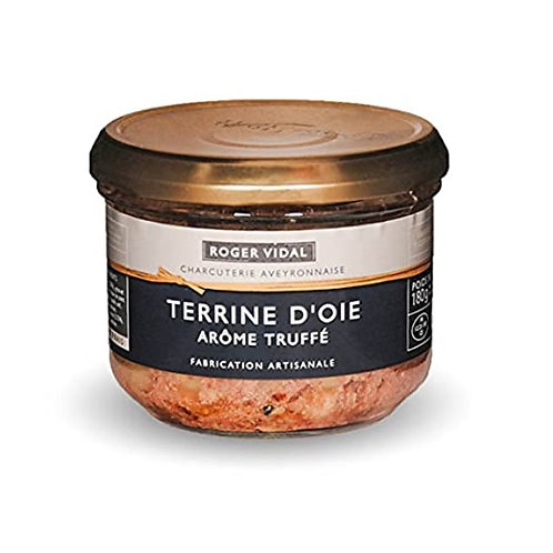 Goose Terrine infused with Truffle 180 gr