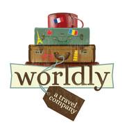 Worldly Travel Co. Logo & Illustration