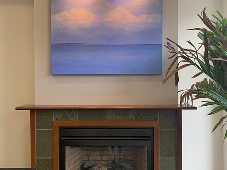 Contemporary Seascapes at The Harborfront Inn
