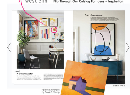 West Elm Catalog Feature!