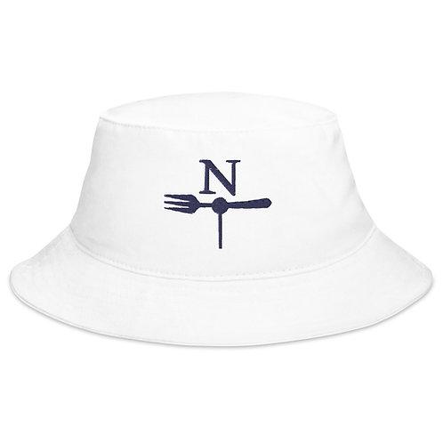 North fork White Bucket Hat