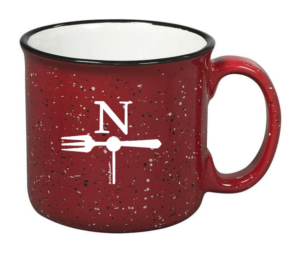 North Fork Campfire Mug in Red