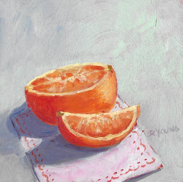 Orange & Pink Serviette,March 2019
