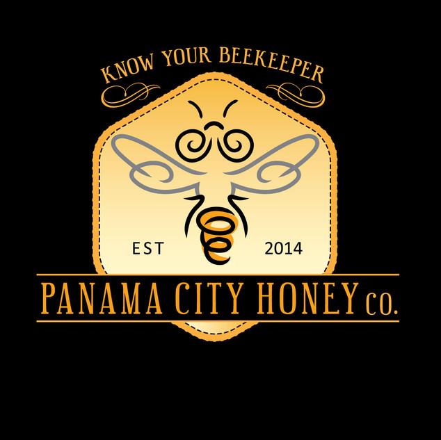 Panama Honey Co. Logo & Illustration