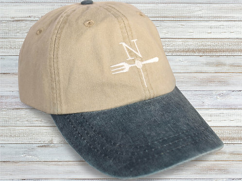 North Fork Cap Pigment Dyed Stone Washed Cap