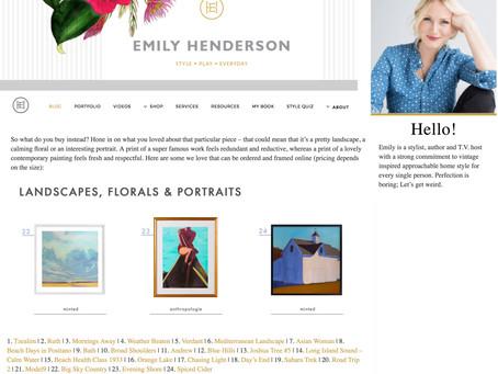 Emily Henderson's Blog
