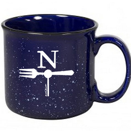North Fork Ceramic Campfire Mug