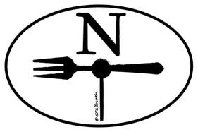 North Fork Oval Magnet
