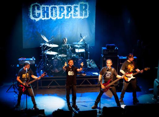 Chopper, la banda de metal uruguaya por excelencia, cumple 30 años