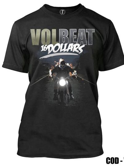 VOLBEAT  -16 DOLLARS