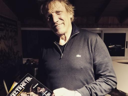Charla exclusiva con Michel Peyronel, el legendario baterista de Riff