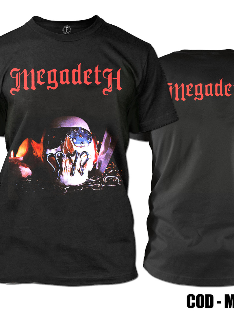 MEGADETH KILLING IS MY BUSSINESS