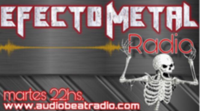 Efecto Metal Radio banner