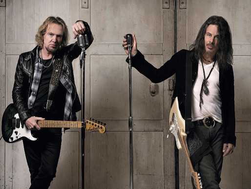 Exclusiva con Richie Kotzen por la salida del disco junto a Adrian Smith