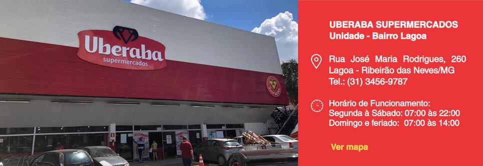 Uberaba Supermercados - Bairro Lagoa