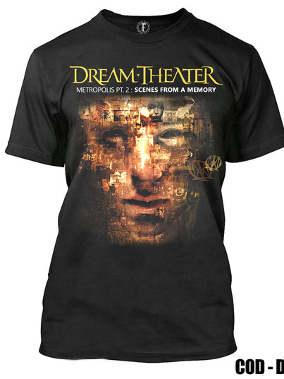 DREAM THEATER - METROPOLIS PT2, SCENES FROM A MEMORY