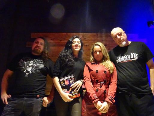 Nos juntamos con los Erosion, la nueva banda de Boff Serafine