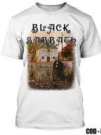 BLACK SABBATH - BLACK SABBATH (REMERA BLANCA)