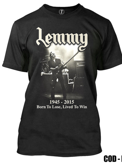 MOTORHEAD - LEMMY BORN TO LOSE, LIVED TO WIN