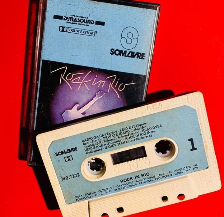 ROCK IN RIO en cassette