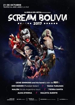 SCREAM BOLIVIA