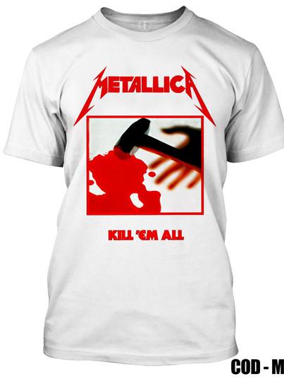 METALLICA - KILL EM ALL BLANCA