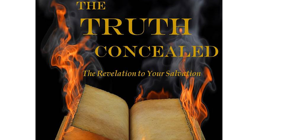 """The Truth Concealed"" paperback book"